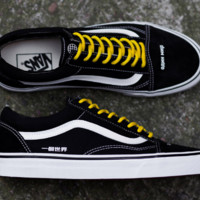 """Coutié x Vans """"One World"""" Old Skool Skateboarding Shoes 35-44"""