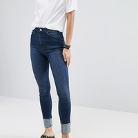 Weekday Super High Waist Body Jean at asos.com