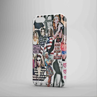 Lana Del Rey And Marina The Diamond Collage iPhone Case Samsung Galaxy Case NDR 3D