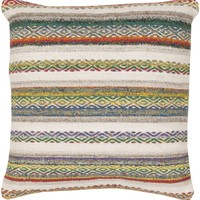 Isabella Throw Pillow Red, Neutral
