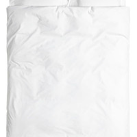 Cotton Poplin Duvet Cover Set - from H&M