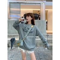 LV Fall Winter Fashion Long Sleeve Hoodie