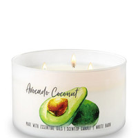 AVOCADO COCONUT3-Wick Candle