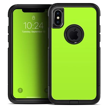 Solid Green V3 - Skin Kit for the iPhone OtterBox Cases