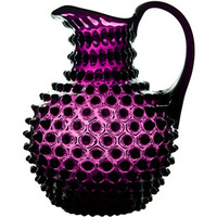 Apartment 48 - Shop - Entertaining - Hobnail Pitcher Translucent Purple - Home Furnishings and Interior Design - New York City