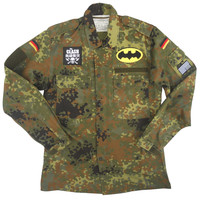 Camouflage Fleck Field Jacket - German Military x American Anarchy Brand