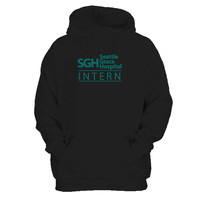 Seattle Grace Hospital Intern Tv Show Greys Anatomy Man's Hoodie