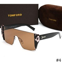 TOM FORD 2018 new popular one-piece mirror fashion men's sunglasses F-ZXJ #4