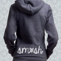 Charcoal Heart SMOSH Hoodie Girl - Smosh Girls - Official  Online Store on District Lines