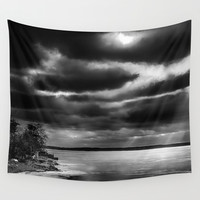 Harsh morning Wall Tapestry by HappyMelvin