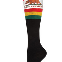 California Knee High Women's Socks