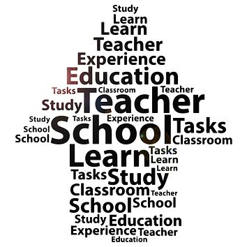 Vinyl Wall Decal High School Teacher Education Classroom Stickers Mural (ig6276)