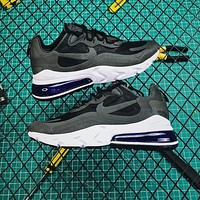 Nike Air Max 270 React Black Running Shoes