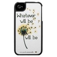 Whatever Will Be Case For The iPhone 4