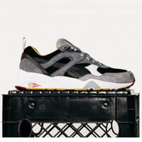 """Puma x Business as Usual - R698 - """"Eat What You Kill"""" Collab - Black/White/Gold"""