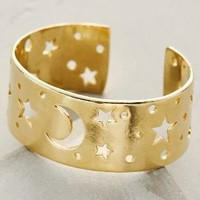 Constellation Cuff by Anthropologie in Gold Size: One Size Bracelets