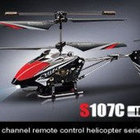 Syma S107C Camera 3 Channel Remote Control Helicopter with Gyro