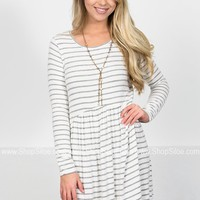 Tessa Striped Babydoll Tunic