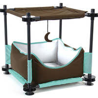"Kitty City 17"" Sleeper Steel Cat Condo"