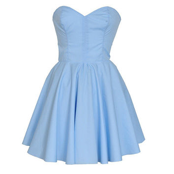 Pastel Blue Party Prom Dress | Style Icon`s Closet