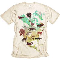 Vintage Animal of America Graphic Tee