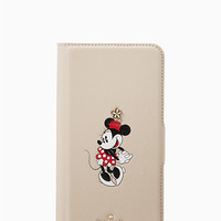 kate spade new york for minnie mouse folio iphone 7/8 plus case