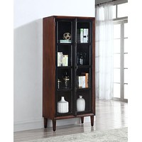 ACCENT CABINET TWO DOORS+GLASS by Coaster