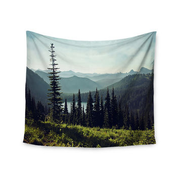 """Sylvia Cook """"Discover Your Northwest"""" Landscape Wall Tapestry"""
