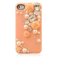 Peach Color Rose With Pearl Case Fo.. on Luulla