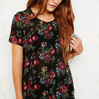 Pins & Needles Godet Blouse in Floral Print - Urban Outfitters