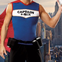Captain Six-Pack Beer Man Costume