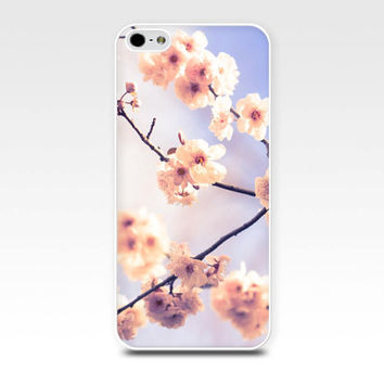 floral iphone case 5s iphone 4s case blossom iphone case pink flower iphone case 4 iphone 5 case girly iphone case pastel fine art iphone