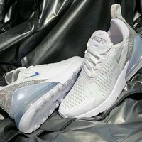 Nike Air Max 270 men and women The air cushion shoes-12