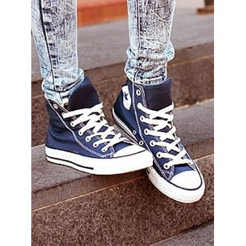 Converse Fashion Canvas Flats Sneakers Sport Shoes-8