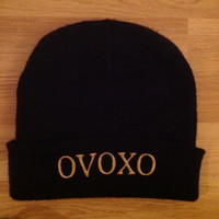 OVOXO beanie hat. Drake. YMCMB. RAP.The Weeknd