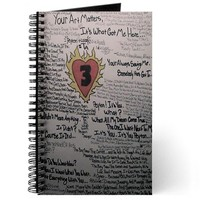 Peyton Art Tree Hill Journal on CafePress.com