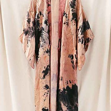 Rough And Tumble Vintage Dragon Kimono Jacket- Assorted One