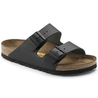Arizona Nubuck Leather Black | shop online at BIRKENSTOCK