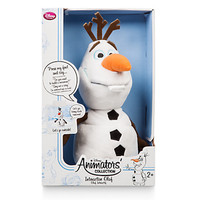 disney Store Animators' Collection Interactive Olaf Plush Toy New with Box