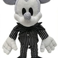Disney Park Mickey Mouse as Jack Skellington Plush Doll