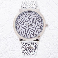 Abstract Print Watch