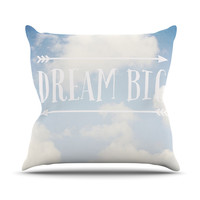 "Susannah Tucker ""Dream Big"" Clouds Throw Pillow"