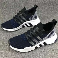 Adidas clover casual sports running shoes F-CSXY black