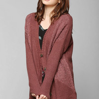 Pins And Needles Cozy Mixed-Stitch Dolman Cardigan - Urban Outfitters