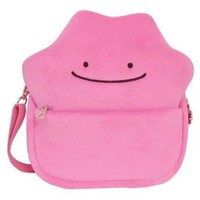 Ditto Pink Plush Crossbody