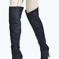 Tia Thigh High Pointed Boot