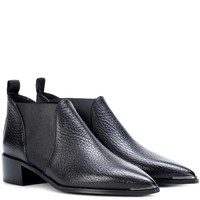Jenny leather ankle boots