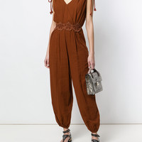 See By Chloé Sleeveless Wrap Jumpsuit - Farfetch