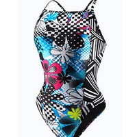 Speedo Remix Endurance Lite Y-Back One Piece at SwimOutlet.com - Free Shipping