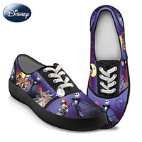 The Nightmare Before Christmas Canvas Art Sneakers